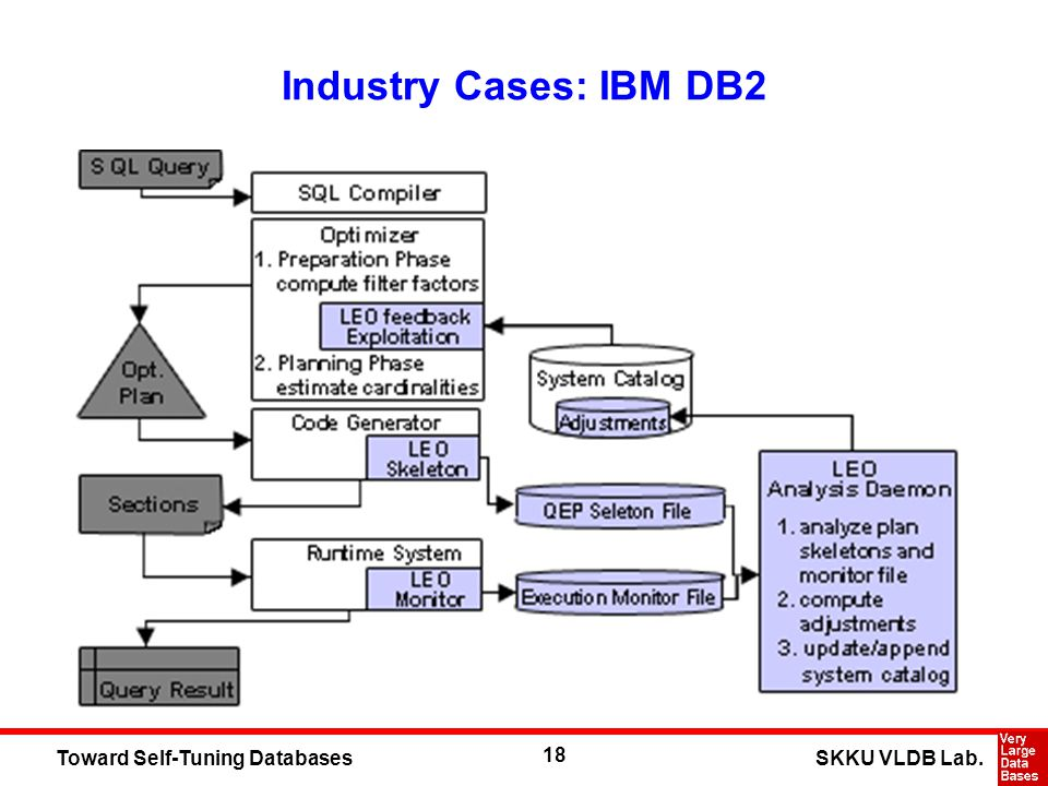18 SKKU VLDB Lab.Toward Self-Tuning Databases Industry Cases: IBM DB2
