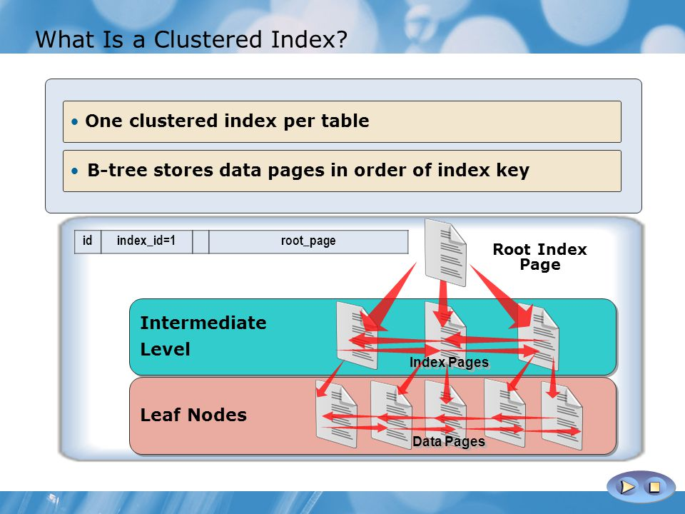What Is a Clustered Index.