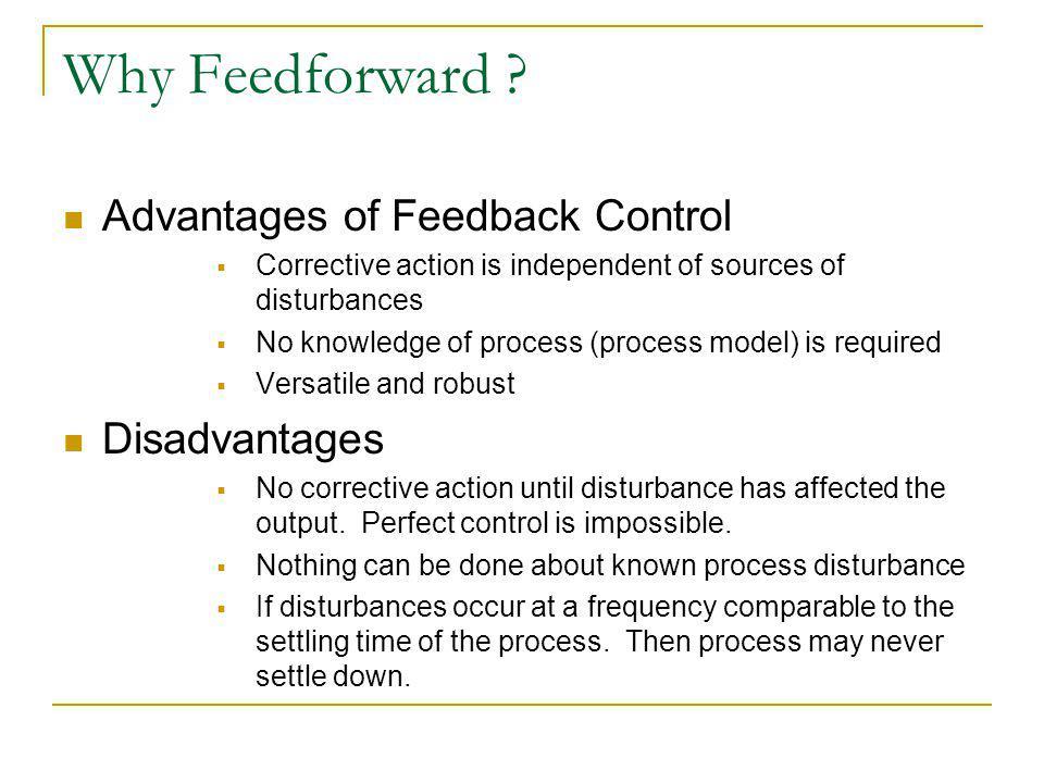 Why Feedforward .