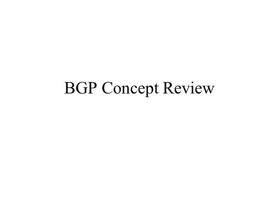 BGP Intro BGP4 is the protocol used on the Internet to exchange routing information between providers, and to propagate external routing information through networks.