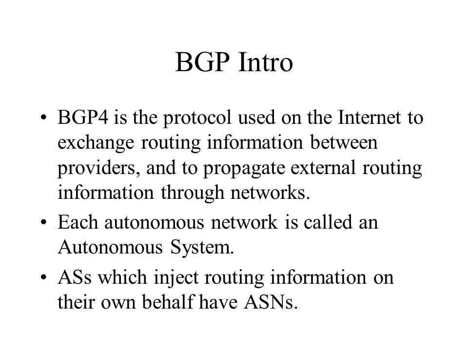 Safe Routing - Filtering Another method of sanity filtering is to restrict your peers based on routes or as- paths.