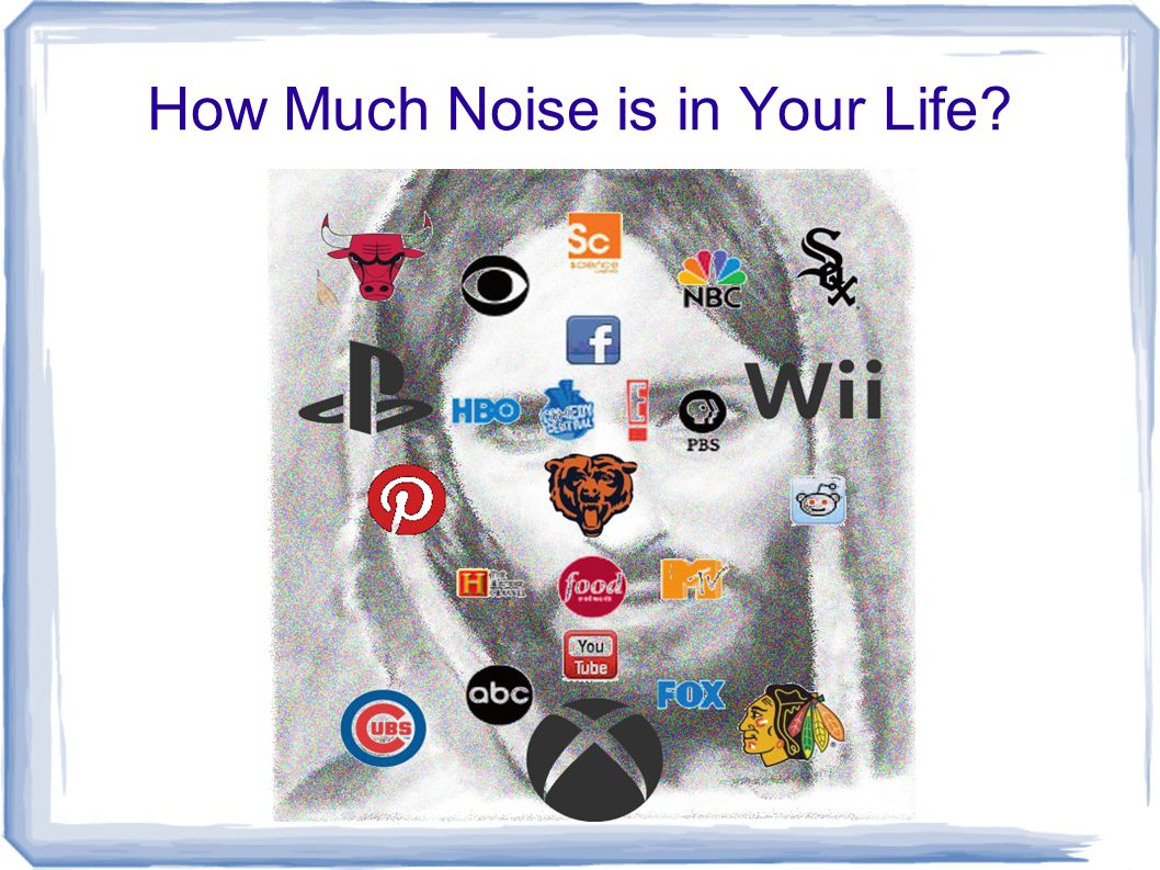 How Much Noise is in Your Life