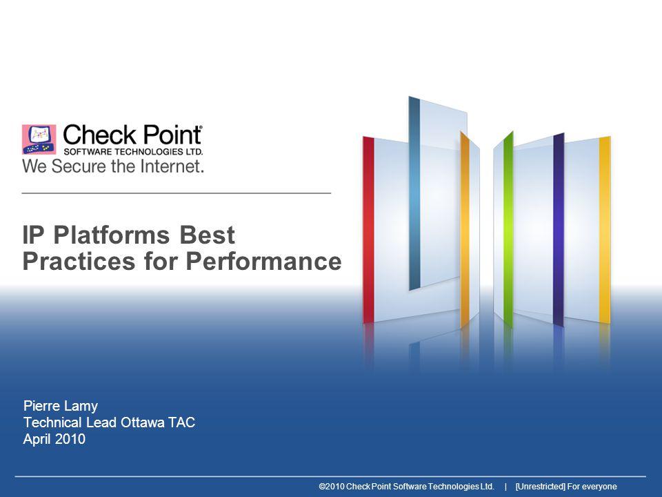 32 ©2010 Check Point Software Technologies Ltd.