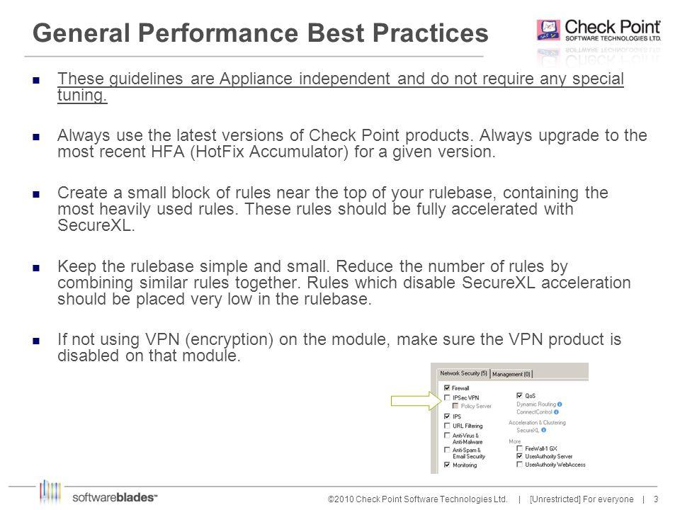 14 ©2010 Check Point Software Technologies Ltd.