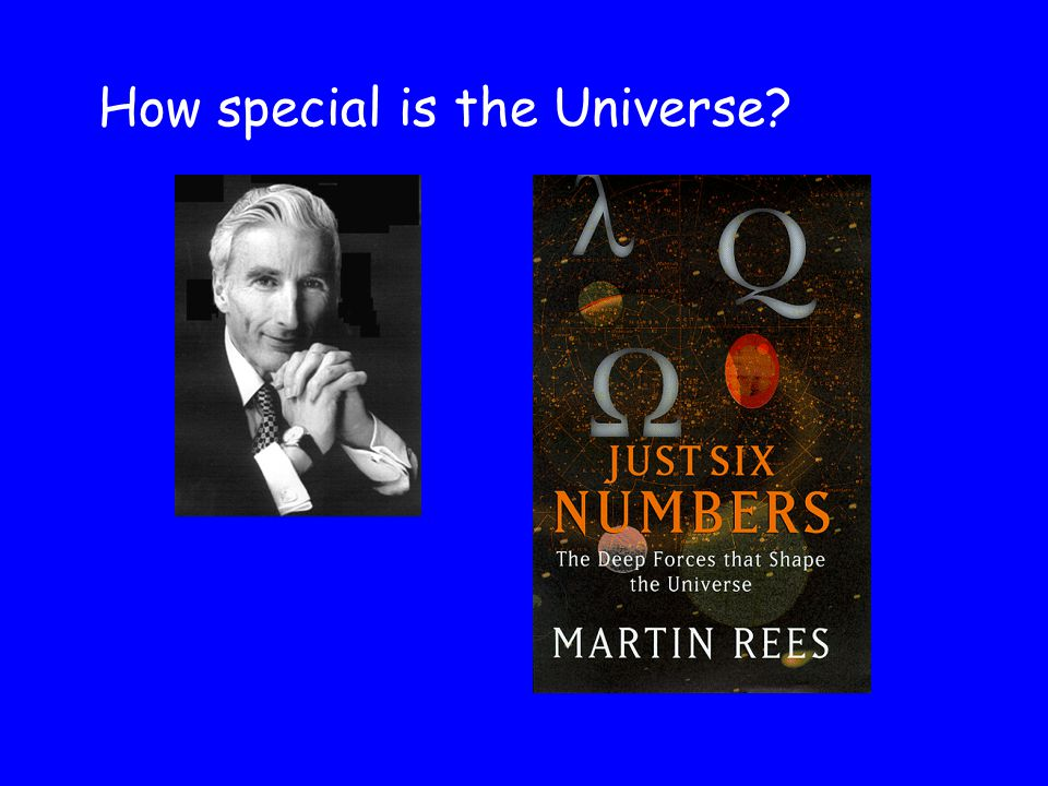 How special is the Universe?