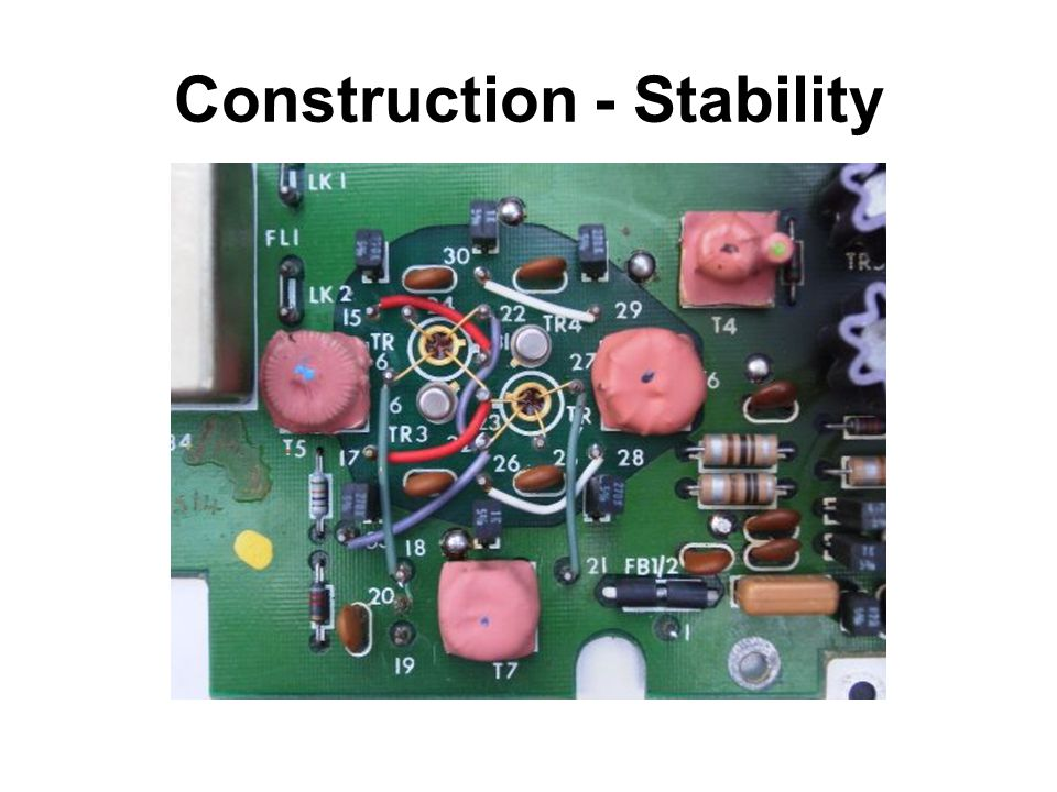 Construction - Stability