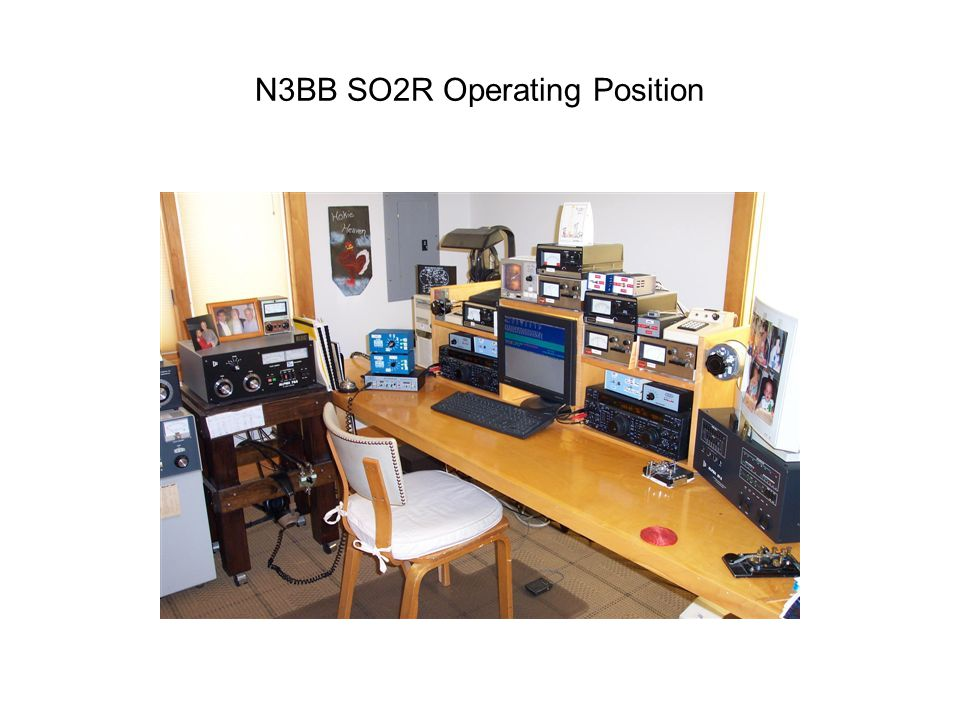 N3BB SO2R Operating Position