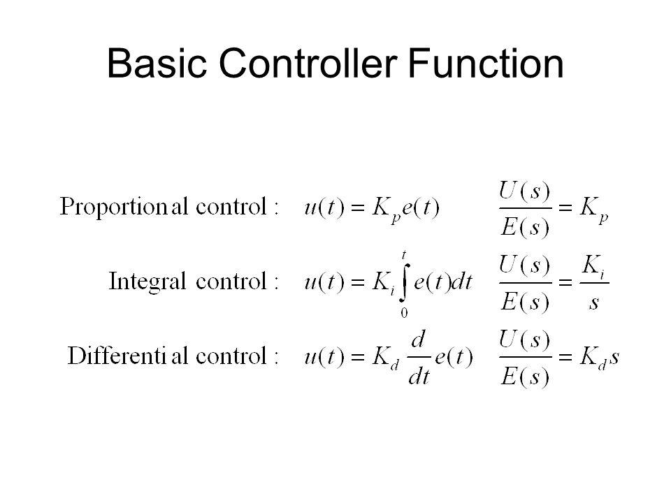 Basic Controller Function