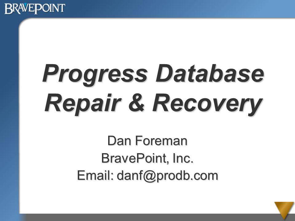 PUG Challenge 2012 Introduction- Dan Foreman Progress User since 1984 (V2.1) Speaker at many Progress User Conferences from 1990 to 2012