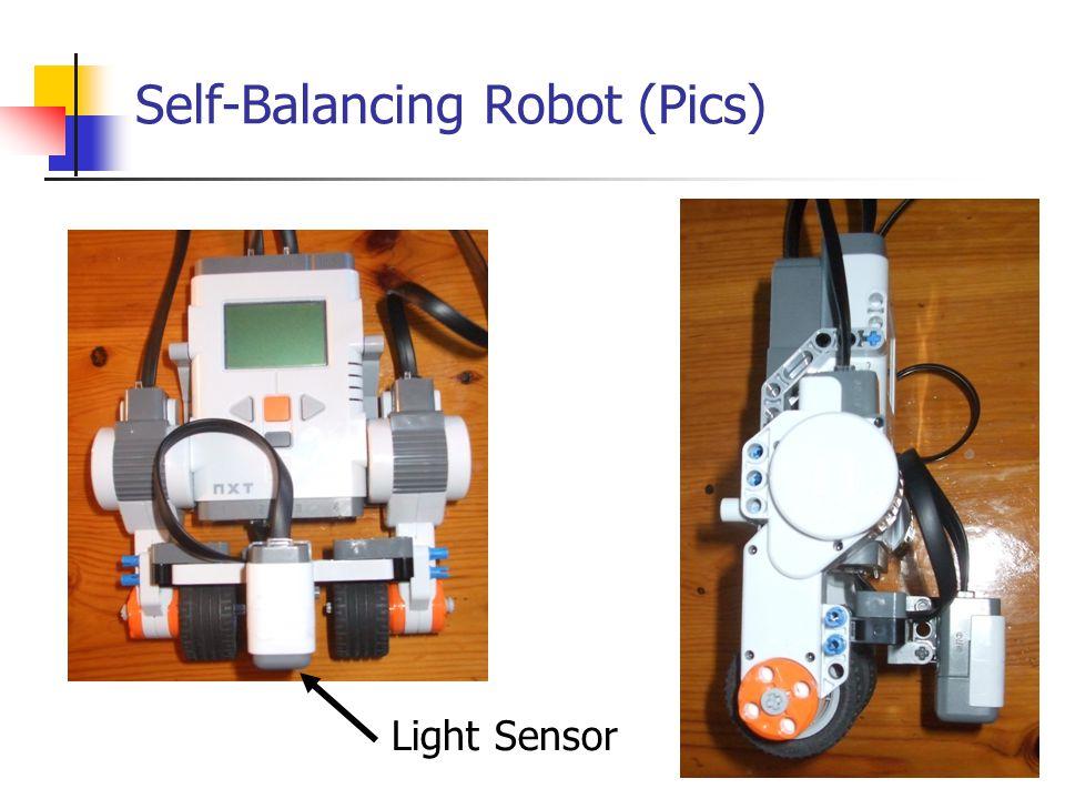 Self-Balancing Robot (Pics) Light Sensor