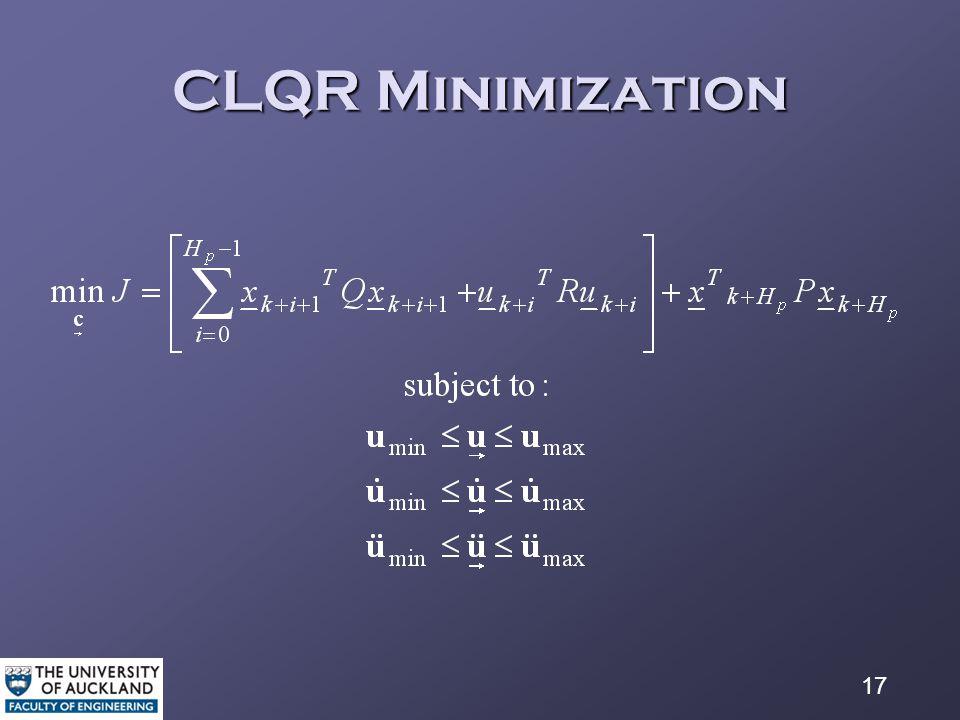 17 CLQR Minimization