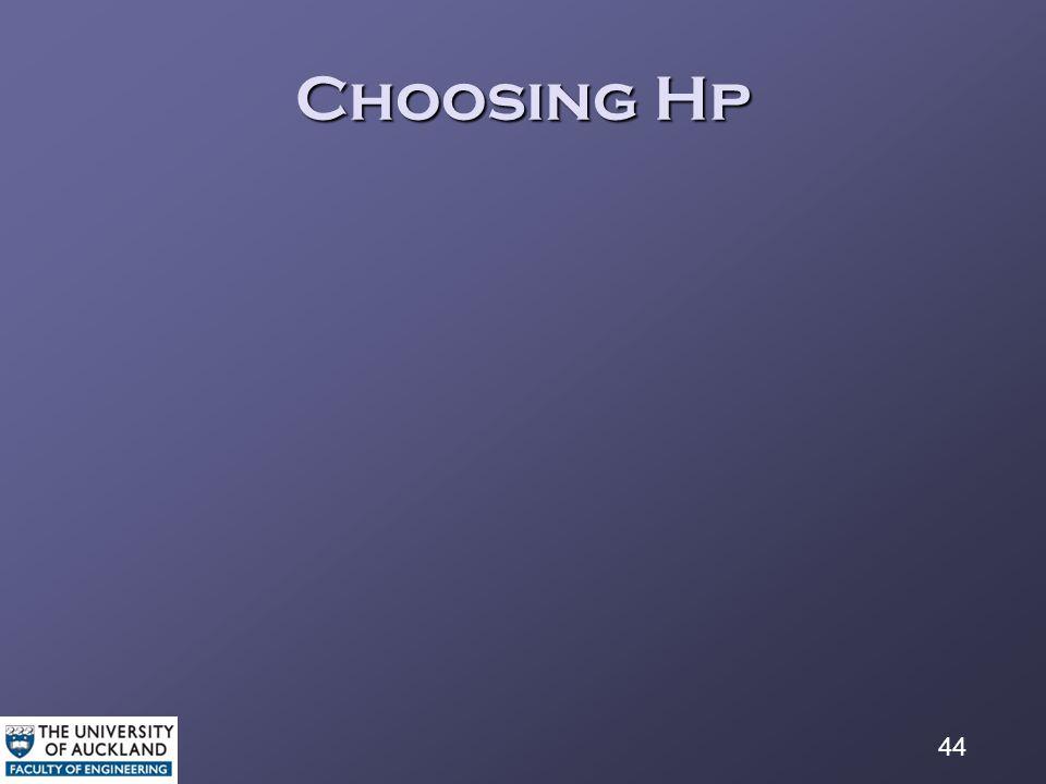 44 Choosing Hp