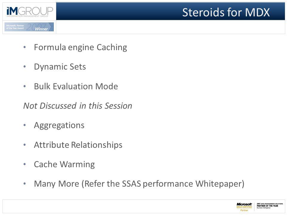 FE Query plan FE Cache SE Cache SE Query plan Under the Hood Formula Engine Storage Engine