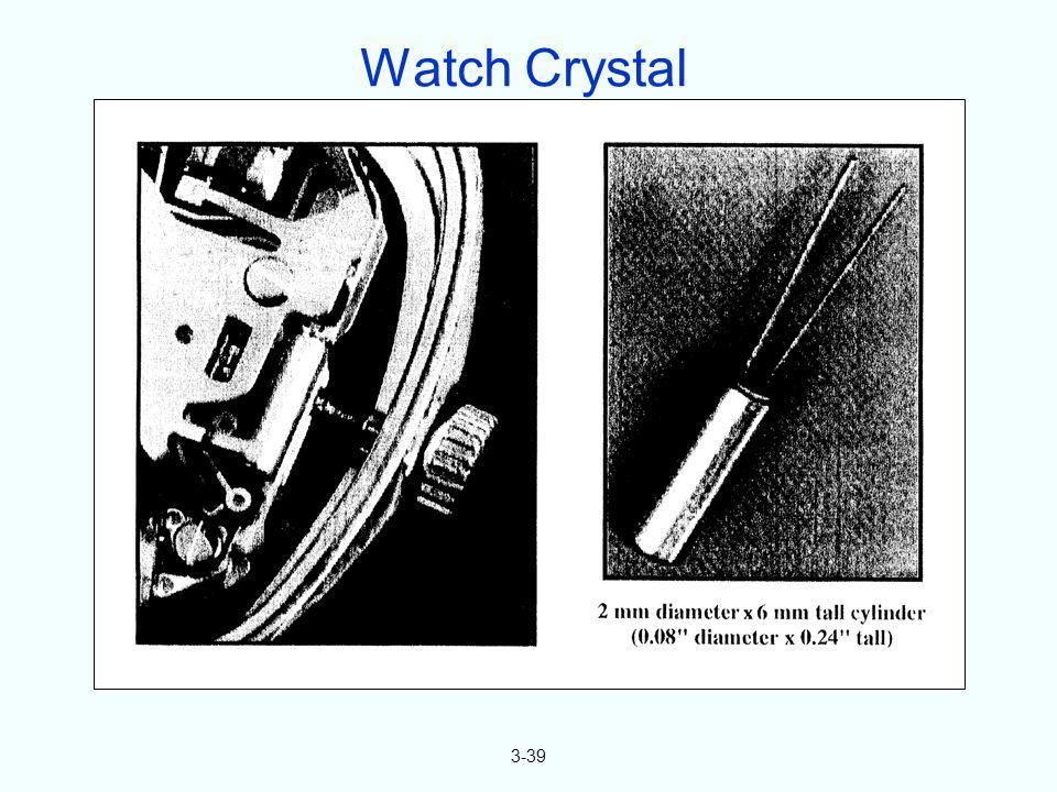 3-39 Watch Crystal