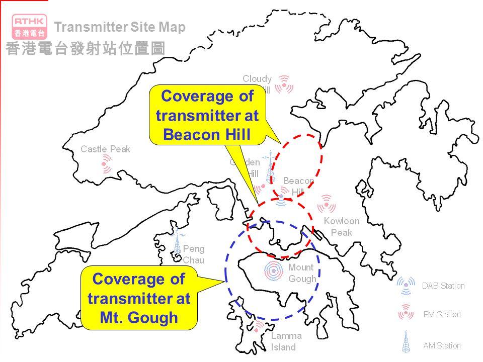 Beacon Hill Mt. Gough Transmitter Site Map