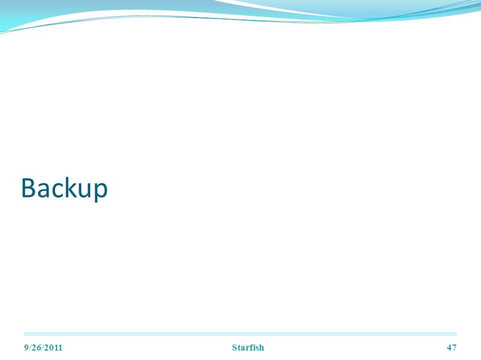 Backup 9/26/2011Starfish47