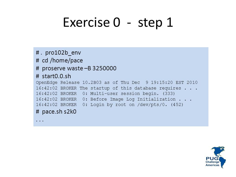 Exercise 0 - step 1 #.