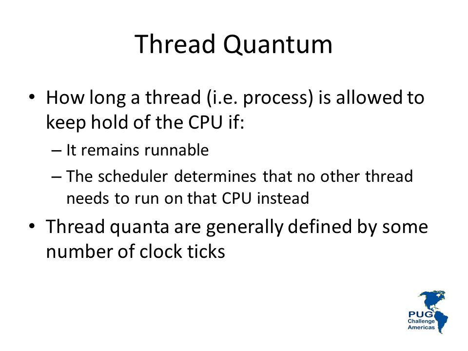 Thread Quantum How long a thread (i.e.