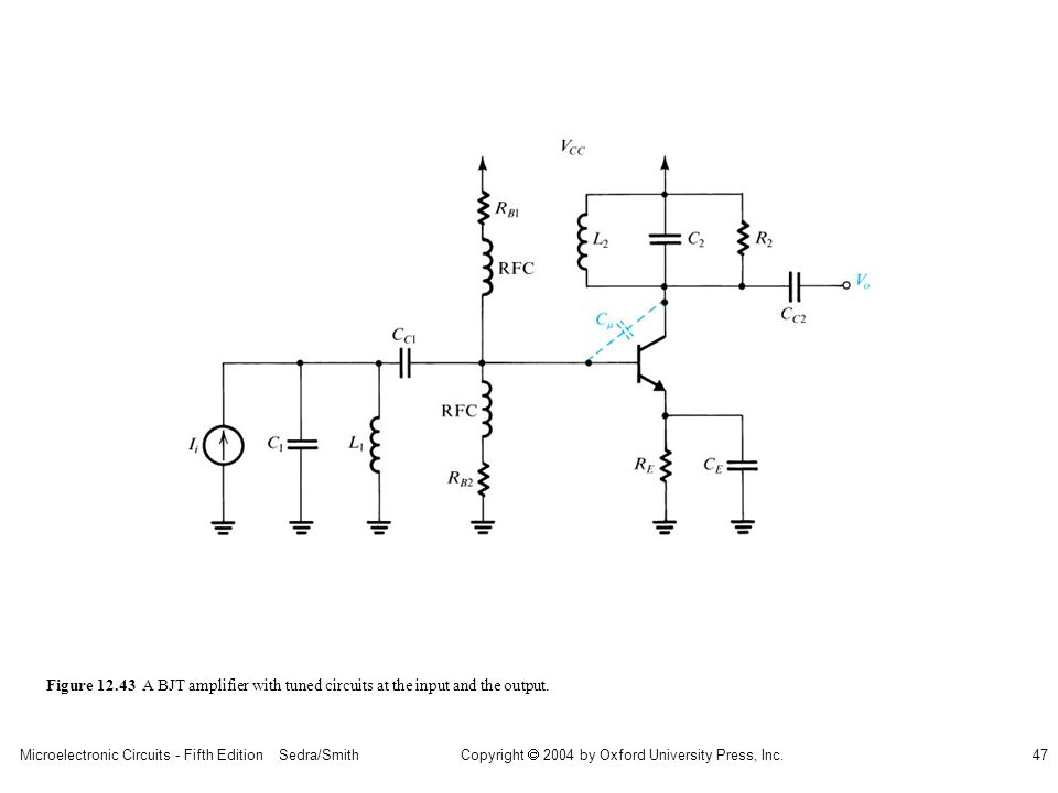 Microelectronic Circuits - Fifth Edition Sedra/Smith47 Copyright 2004 by Oxford University Press, Inc.