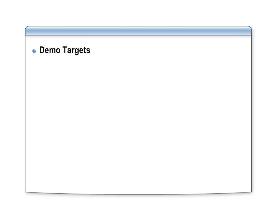 Demo Targets
