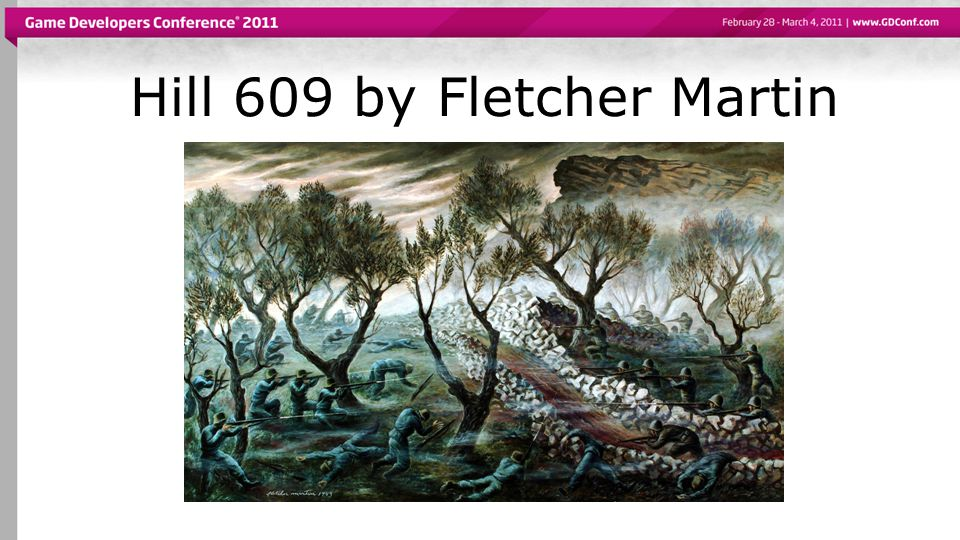 Hill 609 by Fletcher Martin
