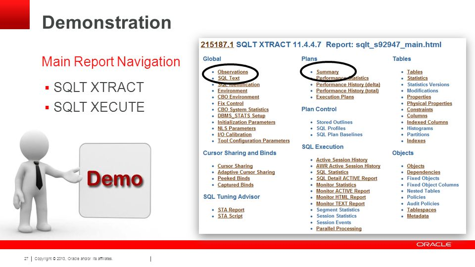 Copyright © 2013, Oracle and/or its affiliates.