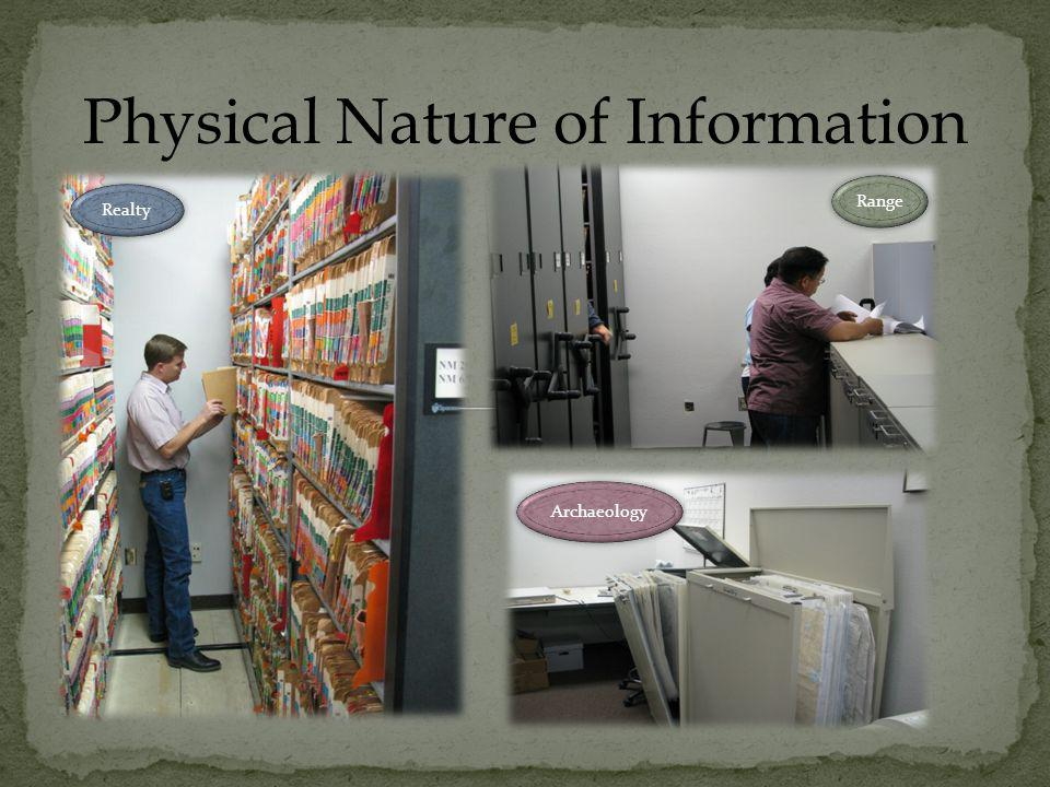 Physical Nature of Information Minerals Archaeology Wildlife