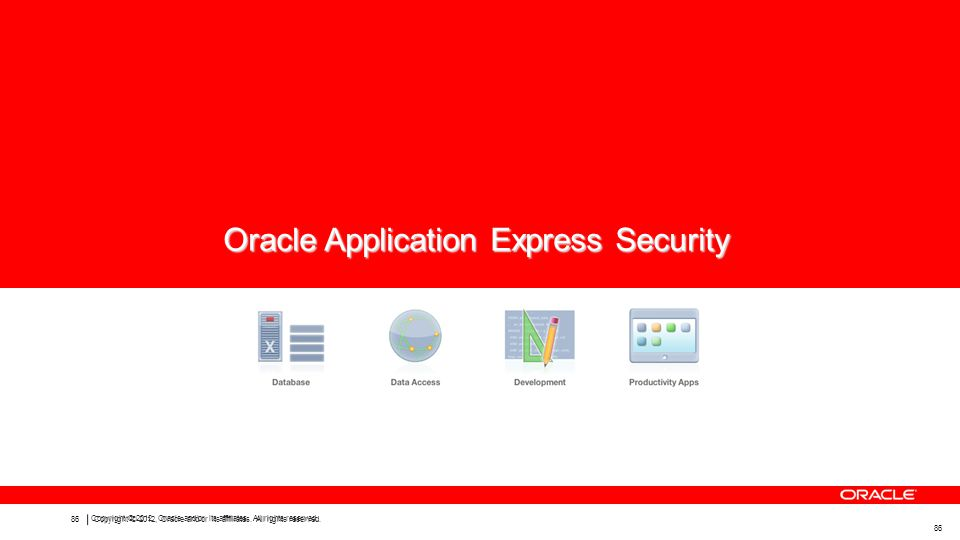 86 Copyright © 2012, Oracle and/or its affiliates.