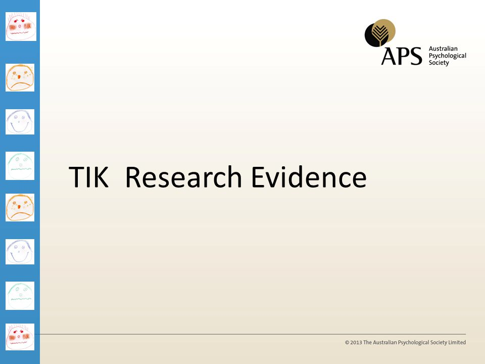 TIK Research Evidence