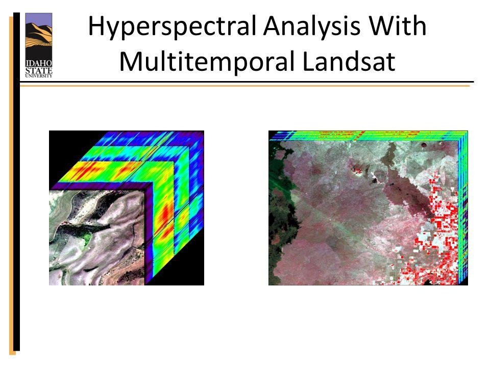 Cheatgrass Singh, N., and Glenn, N.F., 2009, Multitemporal spectral analysis for cheatgrass (Bromus tectorum) classification, International Journal of Remote Sensing, 30 (13): 3441 – 3462.