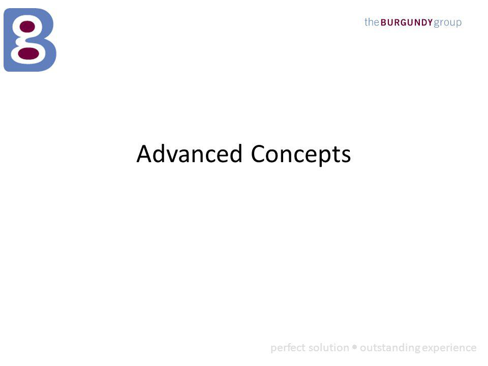 perfect solution outstanding experience Advanced Concepts