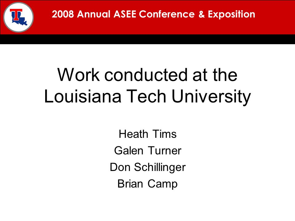 2008 Annual ASEE Conference & Exposition BACKGROUND MISSION APPROACH RESULTS QUESTIONS Each teacher is required to develop and incorporate curriculum that is appropriate to their specific grade and subject.