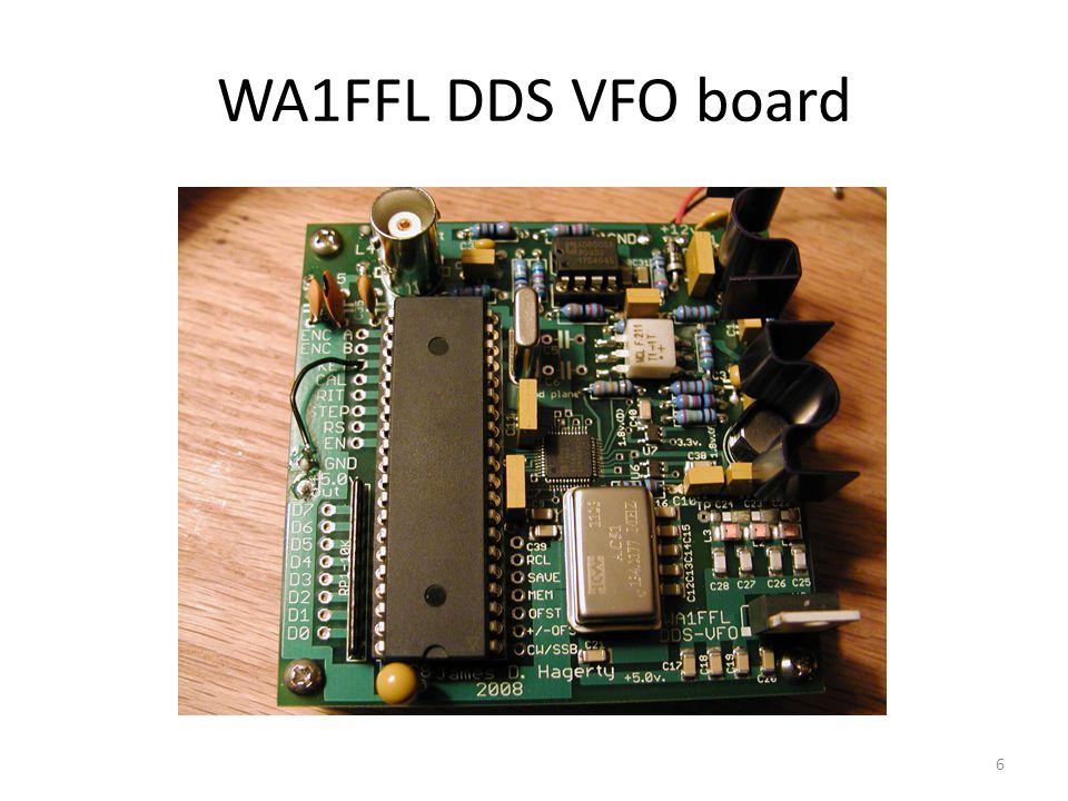 WA1FFL DDS VFO board 6