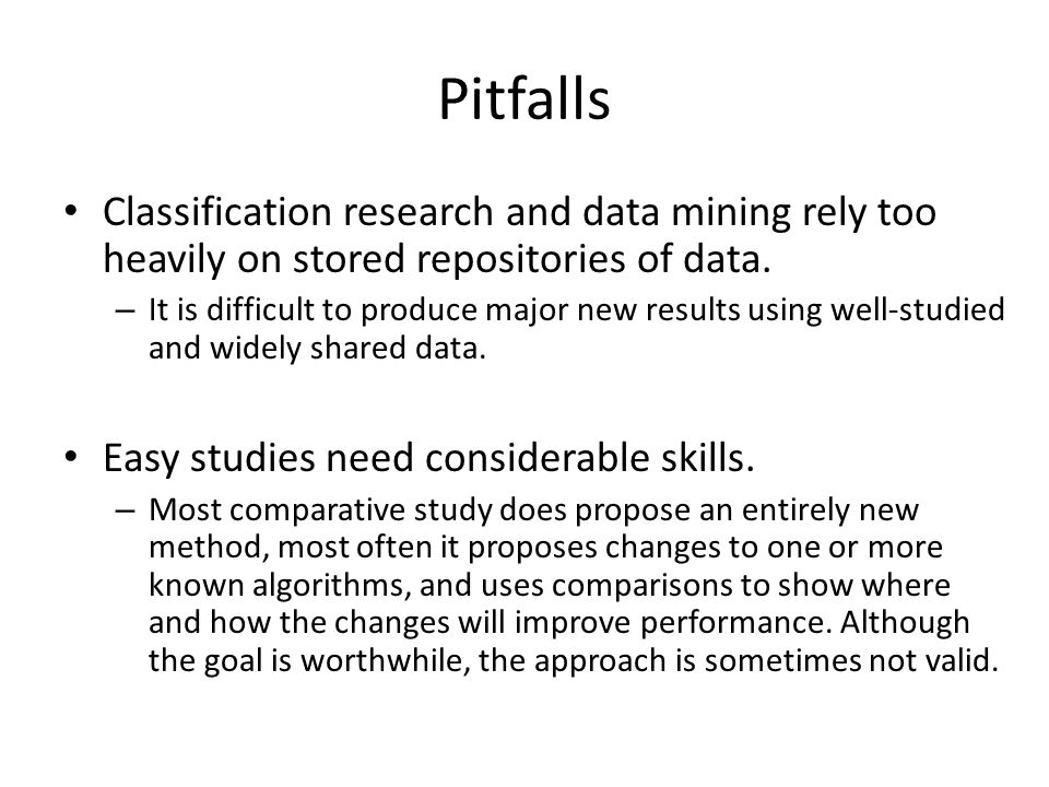 Problem 1: Sharing a small repository of datasets Suppose 100 people are studying the effect of algorithms A and B.