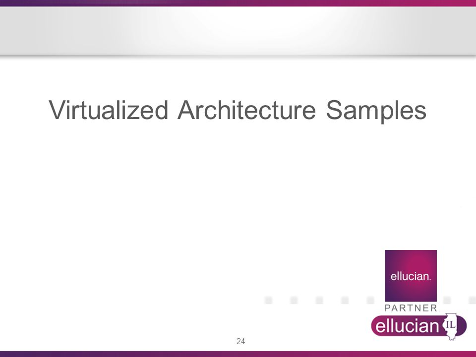 24 Virtualized Architecture Samples