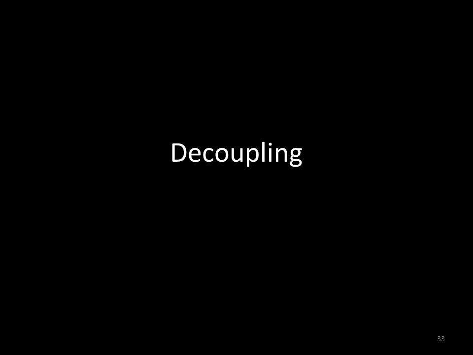 Decoupling 33