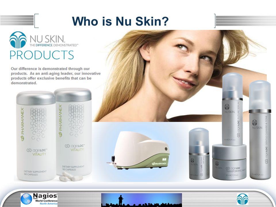 Who is Nu Skin?