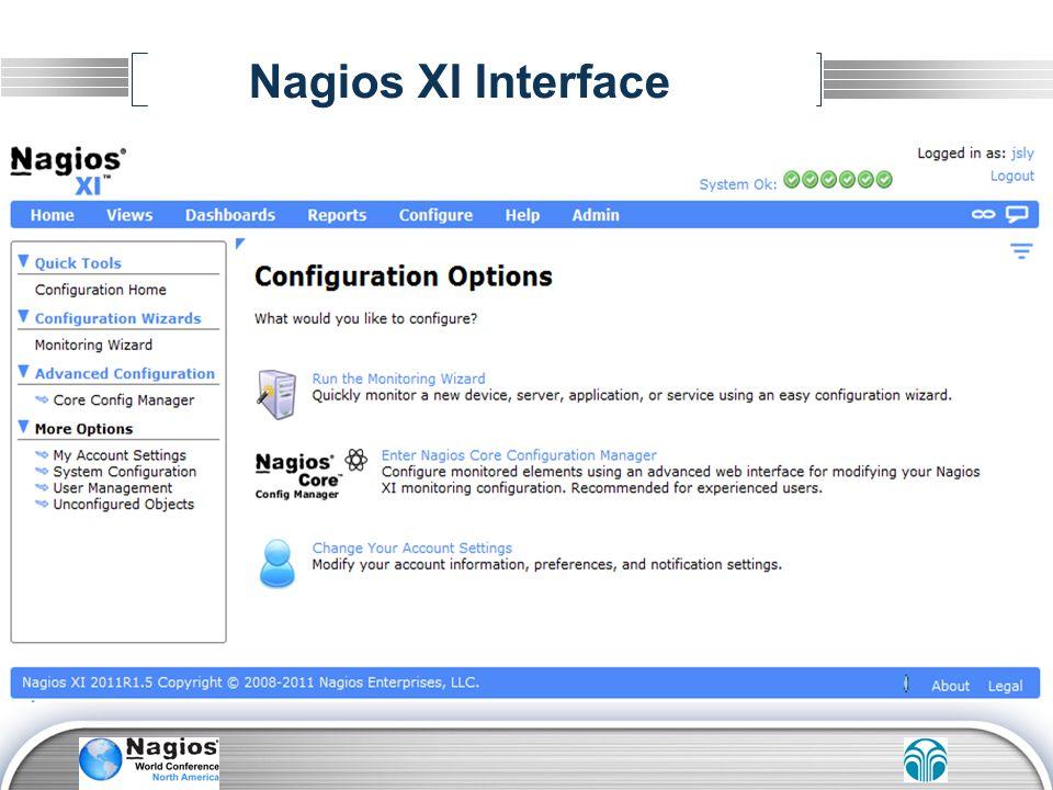 Nagios XI Interface