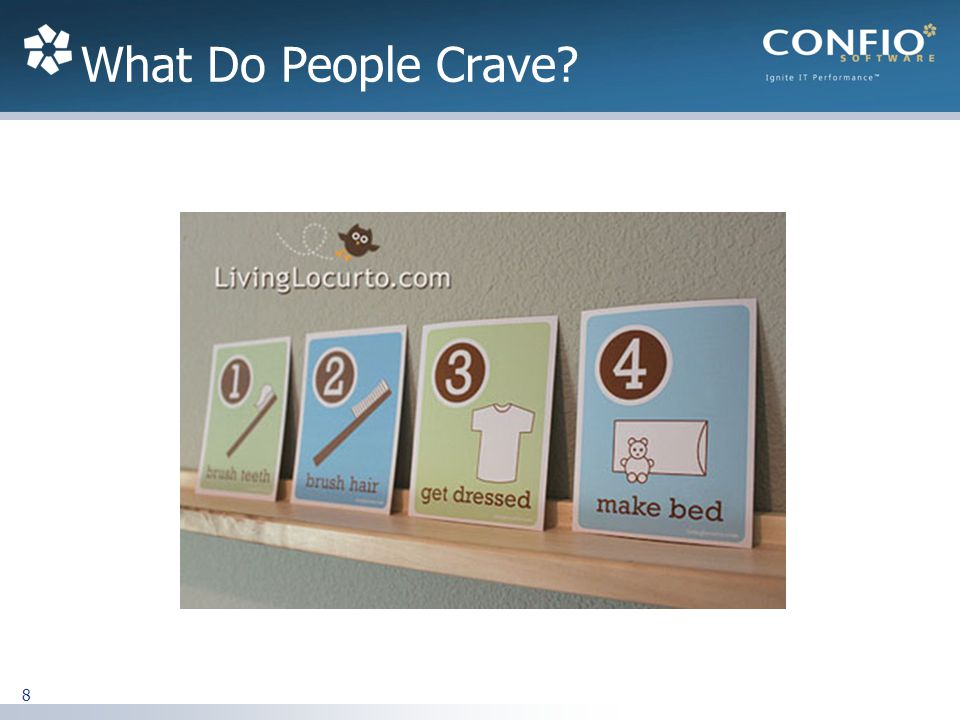 What Do People Crave 8