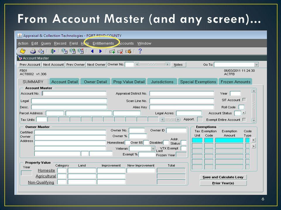 user job task entitlement data privilege entitlement data privilege entitlement BMI 17