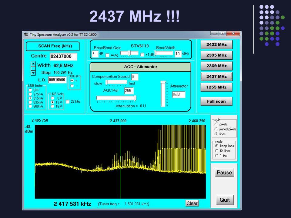 2437 MHz !!!