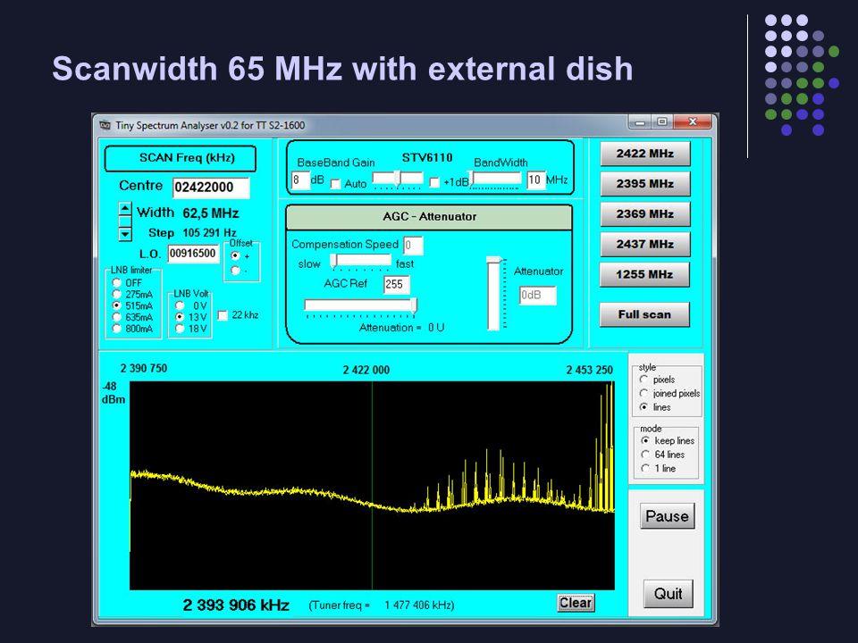 STB6100 Block Diagram Tuning steps = 27 MHz/1024 = 26.367 kHz.