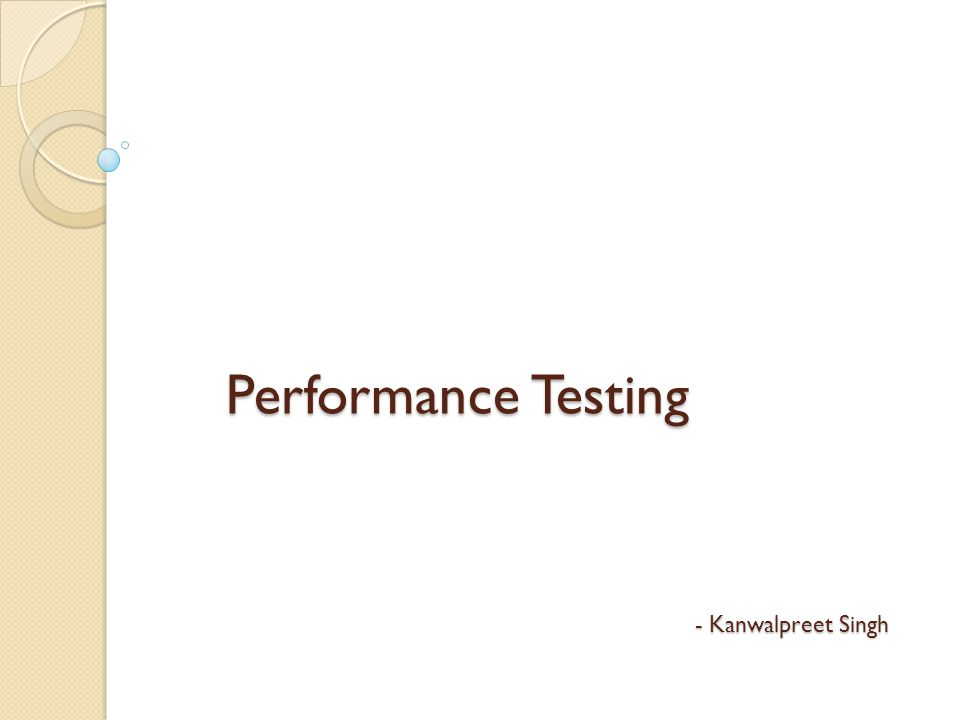 Agenda Overview Need of Performance Testing Types of Performance Testing Tools available HP Loadrunner Components of Loadrunner Record and Replay Scenario Creation Analysis Loadrunner Testing Process Integration of Loadrunner with ALM Performance Center