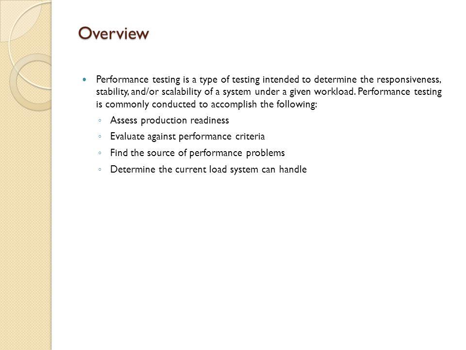 Loadrunner Testing Process – Analysis