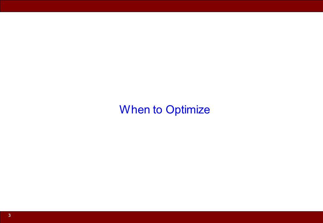 © 2010 Noah Mendelsohn 34 Barriers to Compiler Optimization