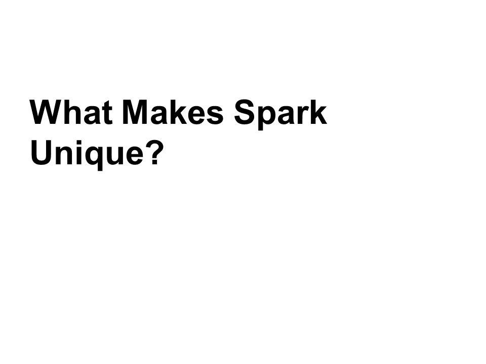 What Makes Spark Unique?