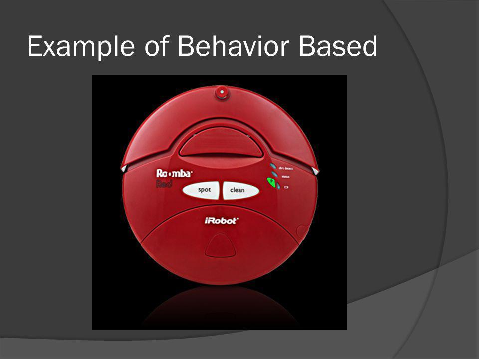 Example of Behavior Based