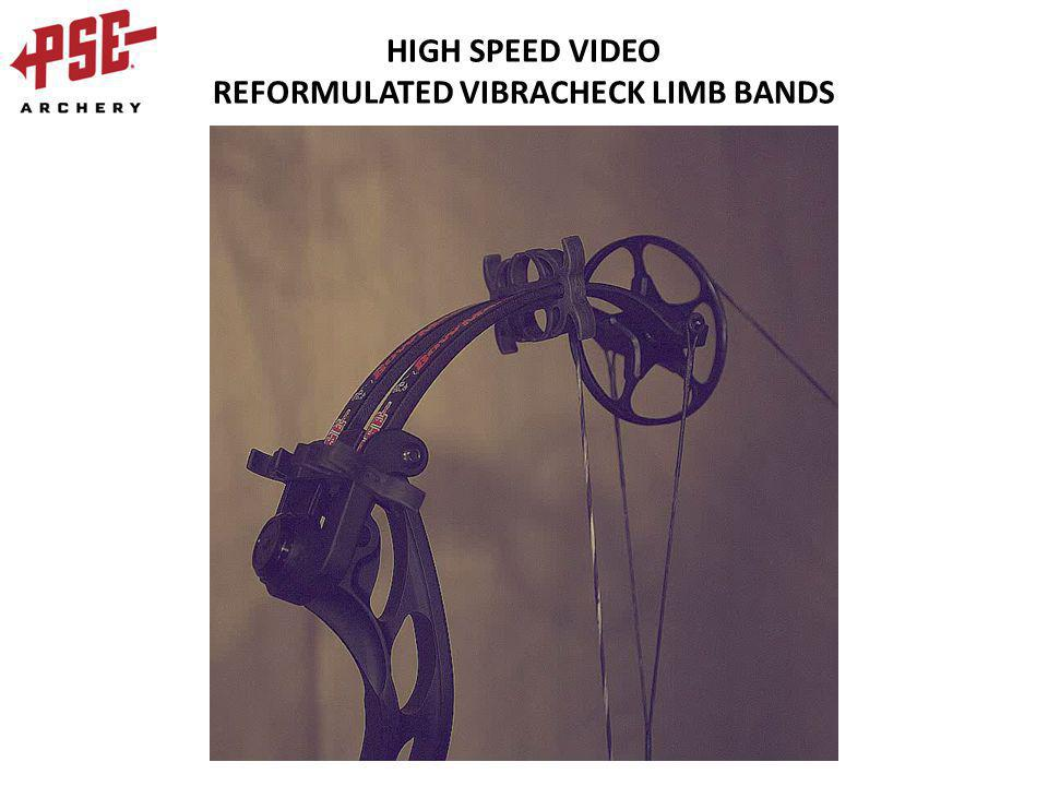 HIGH SPEED VIDEO REFORMULATED VIBRACHECK LIMB BANDS