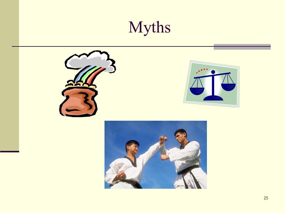25 Myths