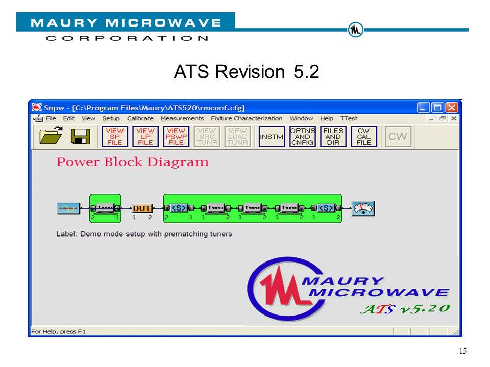 15 ATS Revision 5.2